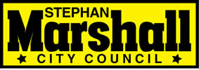 Stephan Marshall for City Council 2020