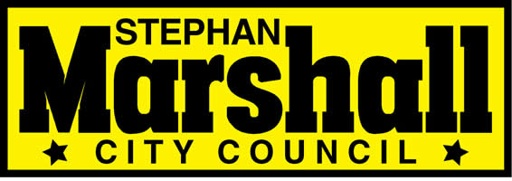 Stephan Marshall for City Council 2019